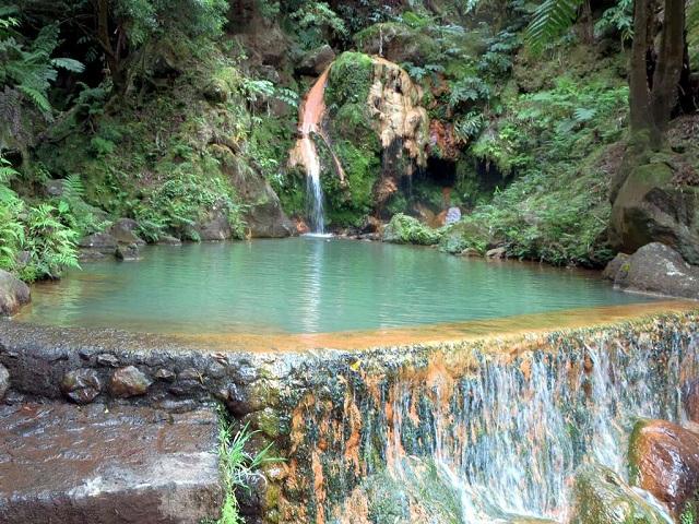 Caldeira Velha Park, Sao Miguel Island, Azores