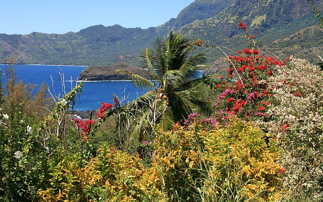 French Polynesian Islands Hiva Oa Island