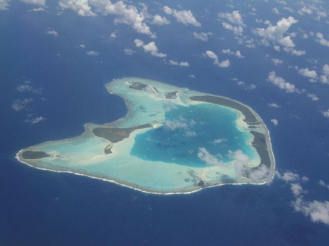 French Polynesian Islands Tetiaroa Atoll