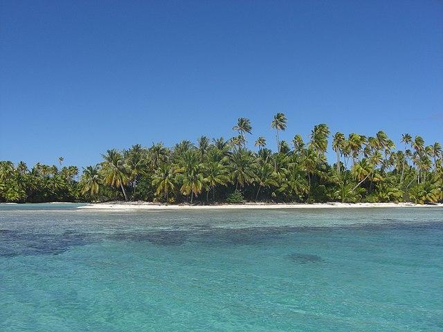 French Polynesian Islands Rangiroa Island