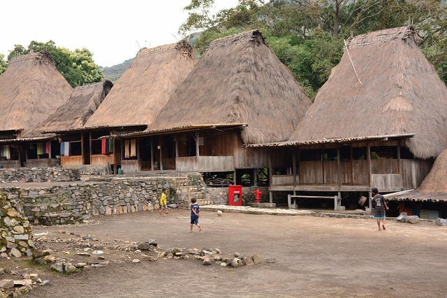 Flores Island Bena Traditional Village