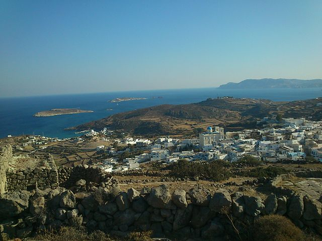Kimolos Greek Islands