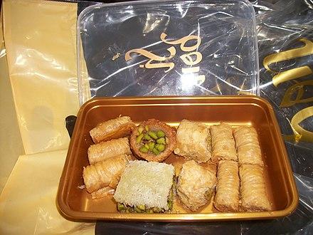 Baklava-pastry