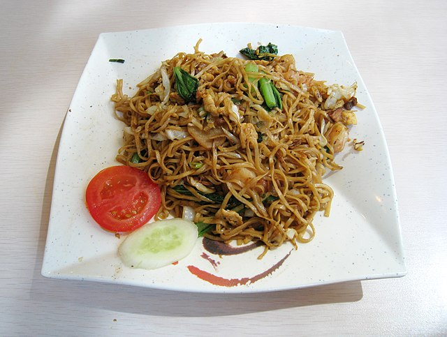 Food and Drinks of Malaysia Bakmi Goreng
