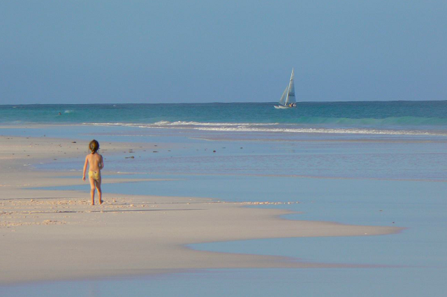 Harbor Island Pink Sand Beach Bahamas