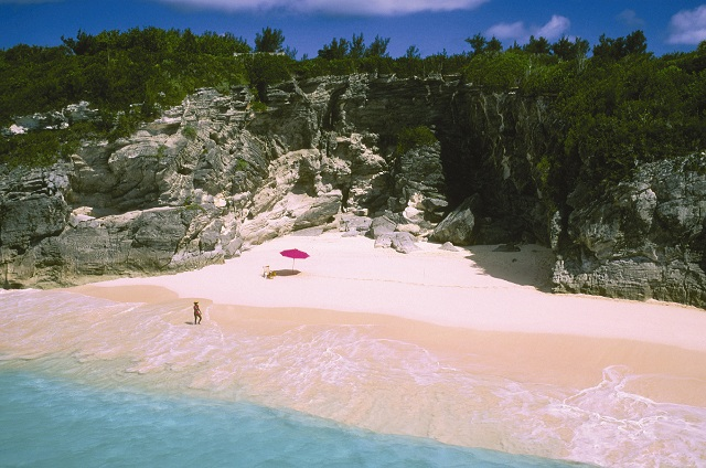 Horseshoe Bay Pink Sand Beaches Bermuda