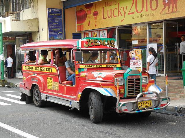 jeepneys Coron Island Philippines