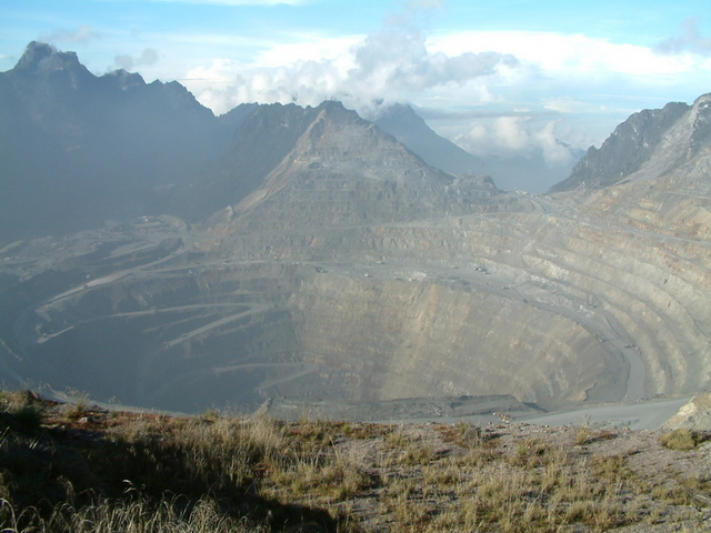 Grasberg Gold Mine, Indonesia