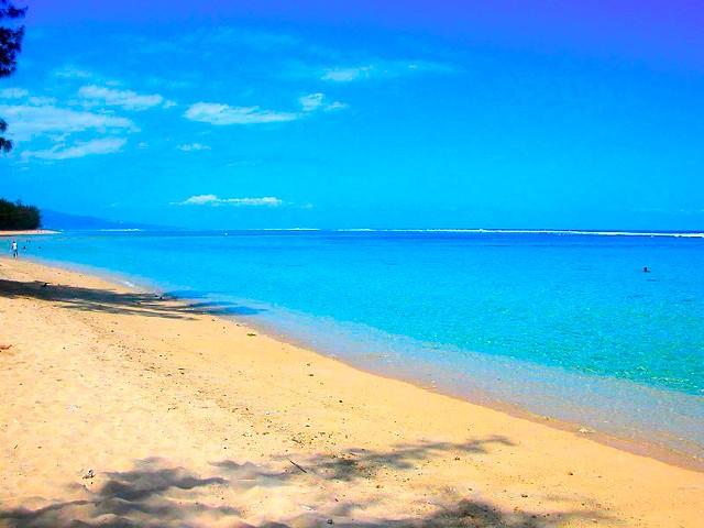 Hermitage Beach Reunion Island