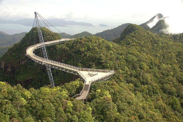 Langkawi island sky bridge