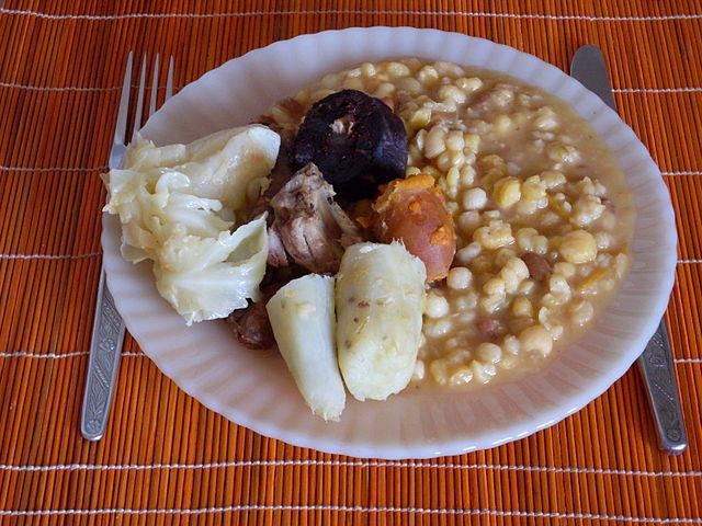 Cachupa Rica staple food of Cape Verde islands