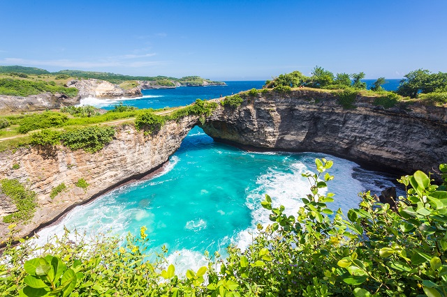 beaches of Nusa Penida Island