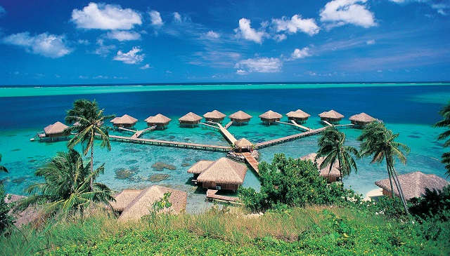 Royal Huahine Resort- Overwater Bungalows