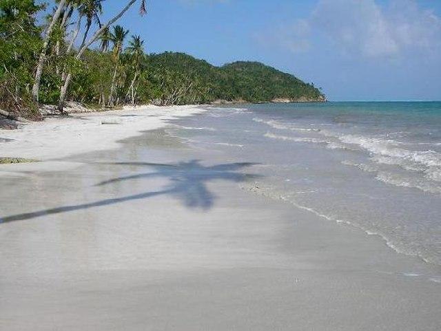 Isla De Providencia tropical island
