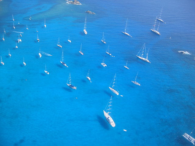 St.Barth Tropical Island