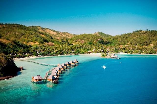 Likuliku Lagoon Resort –Spacious Overwater Bungalows Fiji