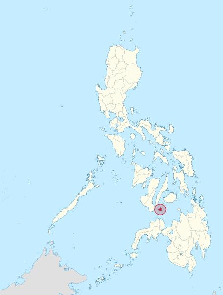 Siquijor Island Map