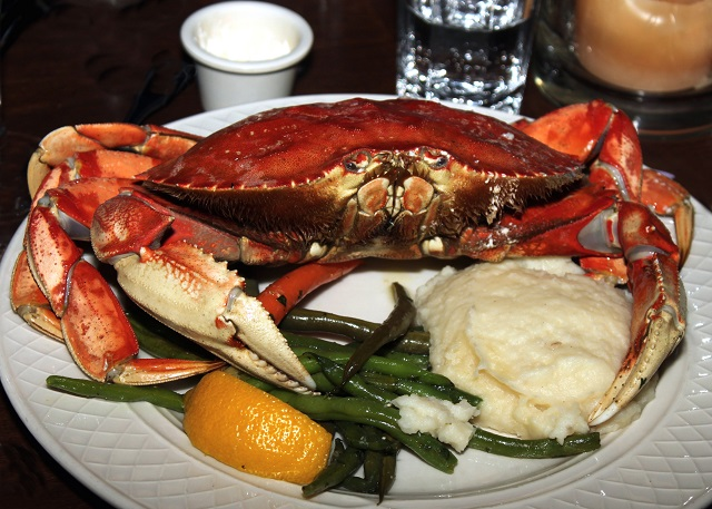 Harbour islands Bahamas Baked Crab