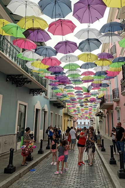 Things to Do in Puerto Rico Umbrella Avenue