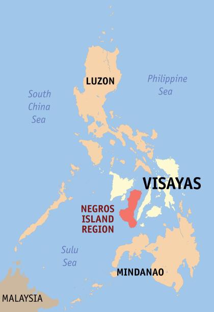 Negros Island Map